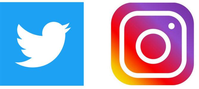 Twitter Instagram はじめました!